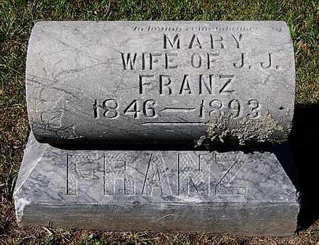 FRANZ, MARY - McCook County, South Dakota | MARY FRANZ - South Dakota Gravestone Photos