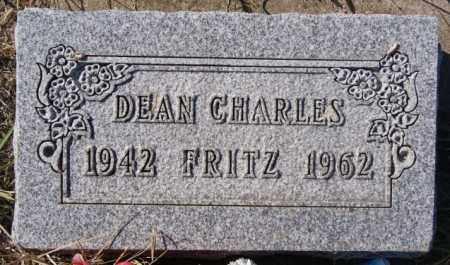 FRITZ, DEAN CHARLES - McCook County, South Dakota   DEAN CHARLES FRITZ - South Dakota Gravestone Photos