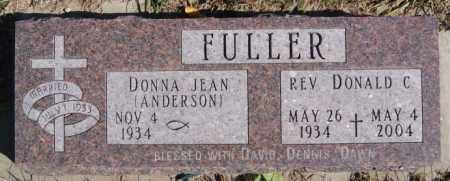 ANDERSON FULLER, DONNA JEAN - McCook County, South Dakota | DONNA JEAN ANDERSON FULLER - South Dakota Gravestone Photos