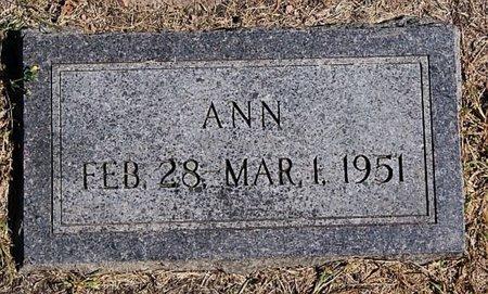 GLASS, ANN - McCook County, South Dakota | ANN GLASS - South Dakota Gravestone Photos