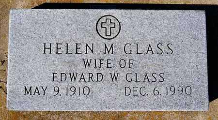 GLASS, HELEN M - McCook County, South Dakota | HELEN M GLASS - South Dakota Gravestone Photos