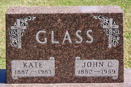 GLASS, KATE - McCook County, South Dakota | KATE GLASS - South Dakota Gravestone Photos