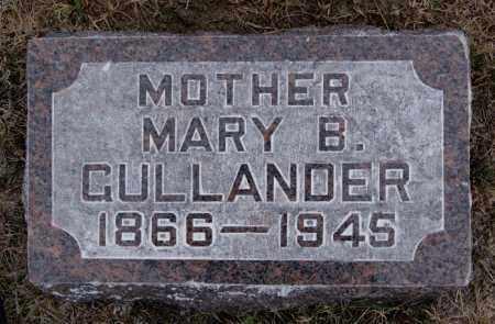 GULLANDER, MARY B - McCook County, South Dakota | MARY B GULLANDER - South Dakota Gravestone Photos