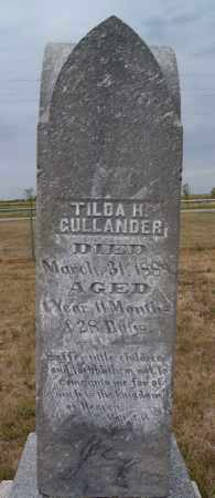 GULLANDER, TILDA H - McCook County, South Dakota   TILDA H GULLANDER - South Dakota Gravestone Photos