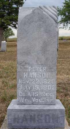 HANSON, PETER (CIVIL WAR) - McCook County, South Dakota | PETER (CIVIL WAR) HANSON - South Dakota Gravestone Photos