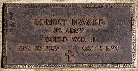 HAVARD, ROBERT (WWII) - McCook County, South Dakota | ROBERT (WWII) HAVARD - South Dakota Gravestone Photos