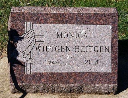 HEITGEN, MONICA - McCook County, South Dakota   MONICA HEITGEN - South Dakota Gravestone Photos