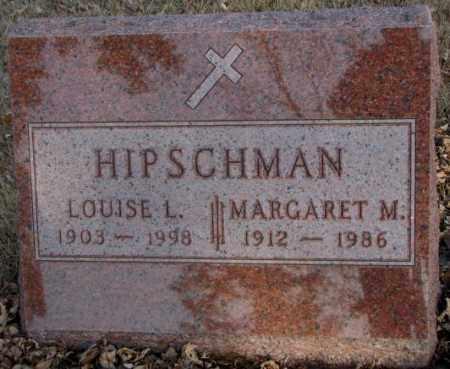 HIPSCHMAN, MARGARET M. - McCook County, South Dakota | MARGARET M. HIPSCHMAN - South Dakota Gravestone Photos