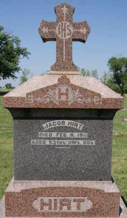 HIRT, JACOB - McCook County, South Dakota | JACOB HIRT - South Dakota Gravestone Photos