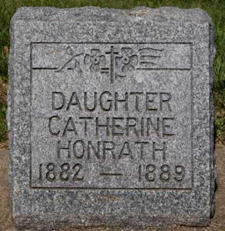 HONRATH, CATHERINE - McCook County, South Dakota | CATHERINE HONRATH - South Dakota Gravestone Photos
