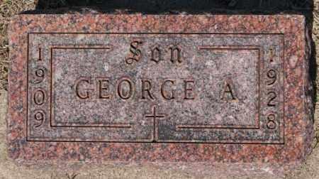 HONRATH, GEORGE A - McCook County, South Dakota   GEORGE A HONRATH - South Dakota Gravestone Photos