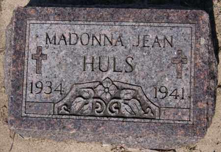 HULS, MADONNA JEAN - McCook County, South Dakota | MADONNA JEAN HULS - South Dakota Gravestone Photos