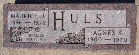 HULS, MAURICE J - McCook County, South Dakota | MAURICE J HULS - South Dakota Gravestone Photos
