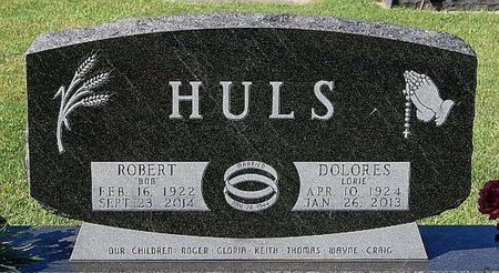 HULS, DOLORES - McCook County, South Dakota | DOLORES HULS - South Dakota Gravestone Photos
