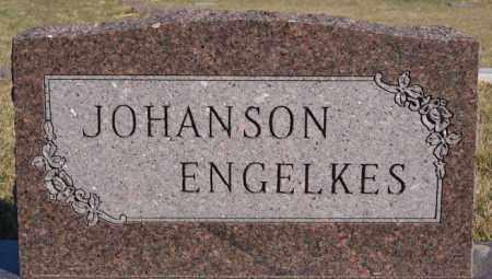JOHANSON ENGELKES, FAMILY MARKER - McCook County, South Dakota | FAMILY MARKER JOHANSON ENGELKES - South Dakota Gravestone Photos