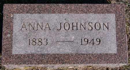 JOHNSON, ANNA - McCook County, South Dakota   ANNA JOHNSON - South Dakota Gravestone Photos