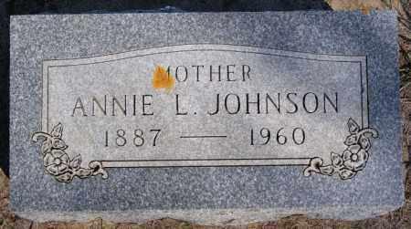 JOHNSON, ANNIE L - McCook County, South Dakota | ANNIE L JOHNSON - South Dakota Gravestone Photos