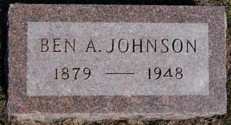 JOHNSON, BEN - McCook County, South Dakota   BEN JOHNSON - South Dakota Gravestone Photos
