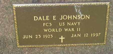 JOHNSON, DALE E. (WW II) - McCook County, South Dakota | DALE E. (WW II) JOHNSON - South Dakota Gravestone Photos
