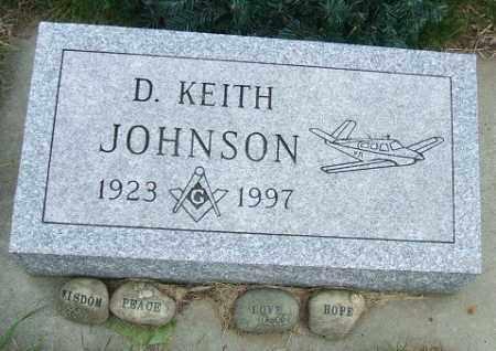 JOHNSON, D. KEITH - McCook County, South Dakota | D. KEITH JOHNSON - South Dakota Gravestone Photos