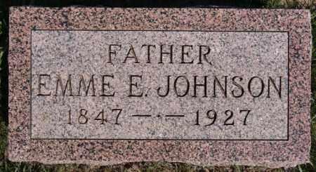JOHNSON, EMME E - McCook County, South Dakota | EMME E JOHNSON - South Dakota Gravestone Photos