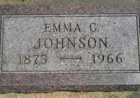 JOHNSON, EMMA C. - McCook County, South Dakota | EMMA C. JOHNSON - South Dakota Gravestone Photos