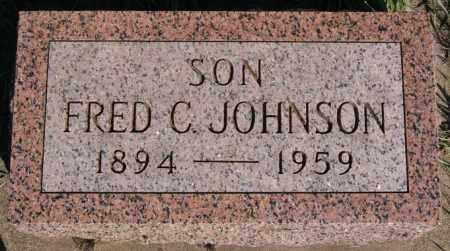 JOHNSON, FRED C - McCook County, South Dakota | FRED C JOHNSON - South Dakota Gravestone Photos