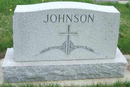 JOHNSON, FAMILY STONE - McCook County, South Dakota | FAMILY STONE JOHNSON - South Dakota Gravestone Photos