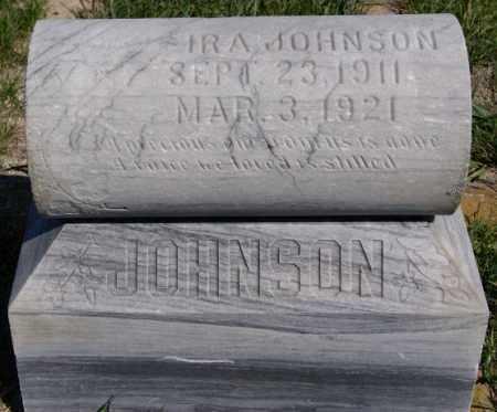 JOHNSON, IRA - McCook County, South Dakota   IRA JOHNSON - South Dakota Gravestone Photos