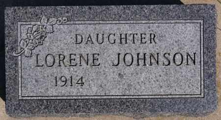 JOHNSON, LORENE - McCook County, South Dakota | LORENE JOHNSON - South Dakota Gravestone Photos
