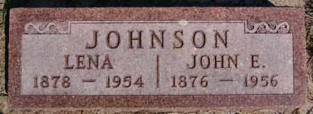 JOHNSON, JOHN E - McCook County, South Dakota | JOHN E JOHNSON - South Dakota Gravestone Photos
