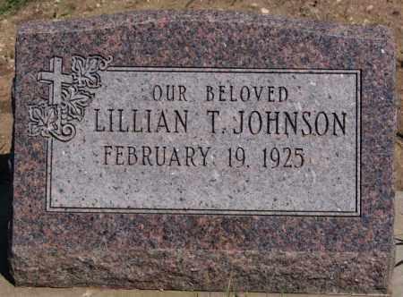 JOHNSON, LILLIAN T - McCook County, South Dakota | LILLIAN T JOHNSON - South Dakota Gravestone Photos