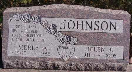 JOHNSON, HELEN C - McCook County, South Dakota | HELEN C JOHNSON - South Dakota Gravestone Photos