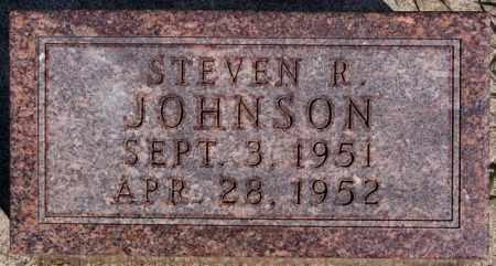 JOHNSON, STEVEN R - McCook County, South Dakota | STEVEN R JOHNSON - South Dakota Gravestone Photos