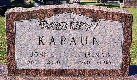KAPAUN, JOHN J - McCook County, South Dakota | JOHN J KAPAUN - South Dakota Gravestone Photos