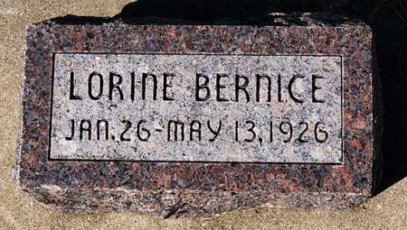 KEENA, LORINE BERNICE - McCook County, South Dakota | LORINE BERNICE KEENA - South Dakota Gravestone Photos