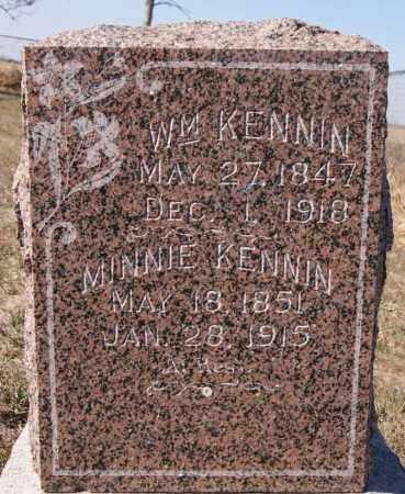 KENNIN, WILLIAM - McCook County, South Dakota | WILLIAM KENNIN - South Dakota Gravestone Photos
