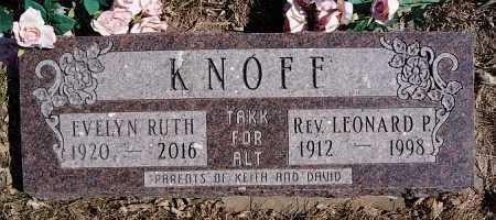 KNOFF, EVELYN RUTH - McCook County, South Dakota | EVELYN RUTH KNOFF - South Dakota Gravestone Photos