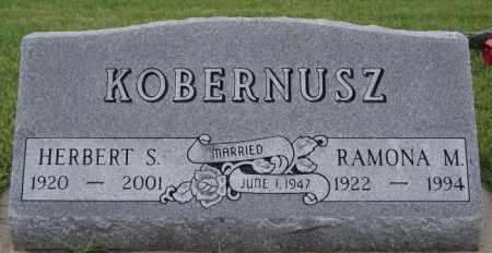 KOBERNUSZ, HERBERT S - McCook County, South Dakota   HERBERT S KOBERNUSZ - South Dakota Gravestone Photos