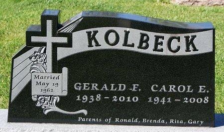 KOLBECK, CAROL E - McCook County, South Dakota   CAROL E KOLBECK - South Dakota Gravestone Photos