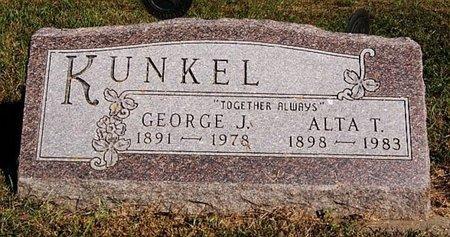 KUNKEL, GEORGE J - McCook County, South Dakota | GEORGE J KUNKEL - South Dakota Gravestone Photos