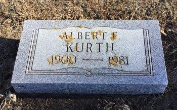 KURTH, ALBERT F. - McCook County, South Dakota   ALBERT F. KURTH - South Dakota Gravestone Photos