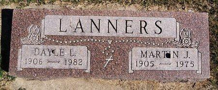 LANNERS, MARTIN J - McCook County, South Dakota | MARTIN J LANNERS - South Dakota Gravestone Photos