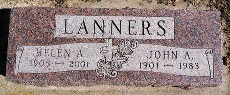 LANNERS, JOHN A - McCook County, South Dakota | JOHN A LANNERS - South Dakota Gravestone Photos