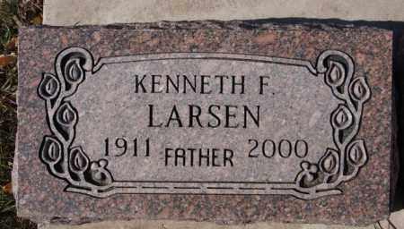 LARSEN, KENNETH F - McCook County, South Dakota | KENNETH F LARSEN - South Dakota Gravestone Photos