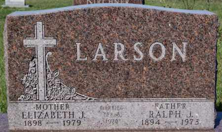LARSON, ELIZABETH J - McCook County, South Dakota | ELIZABETH J LARSON - South Dakota Gravestone Photos
