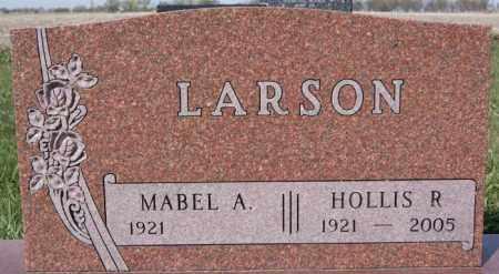 LARSON, HOLLIS R - McCook County, South Dakota | HOLLIS R LARSON - South Dakota Gravestone Photos