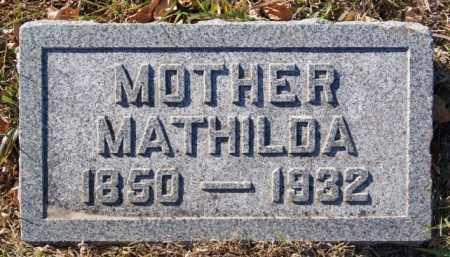 LARSON, MATHILDA - McCook County, South Dakota   MATHILDA LARSON - South Dakota Gravestone Photos