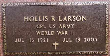 LARSON, HOLLIS R (WWII) - McCook County, South Dakota | HOLLIS R (WWII) LARSON - South Dakota Gravestone Photos