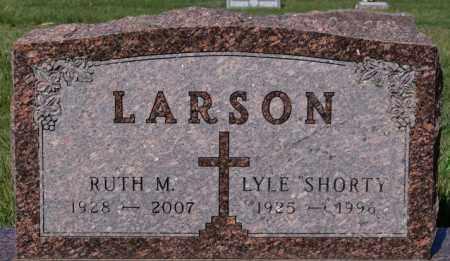 LARSON, LYLE - McCook County, South Dakota | LYLE LARSON - South Dakota Gravestone Photos